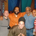 SK, Kymani Marley, Rasta Punch, Dermott Hussey, and Jackie Hall
